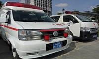 Ngành y tế xuất quân và diễn tập ứng phó cấp cứu phục vụ APEC
