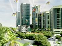 Khởi công xây trục đường mới qua khu đô thị Mê Linh
