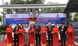 Dự án năng lượng mặt trời áp mái nối lưới và trạm sạc điện nhanh đầu tiên tại Việt Nam