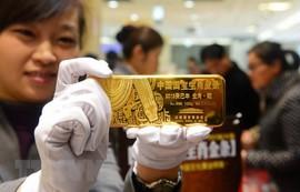 Căng thẳng thương mại Mỹ-Trung đẩy giá vàng châu Á tăng cao