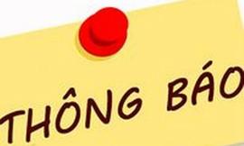 Cục Thi hành án dân sự TP. Hồ Chí Minh thông báo