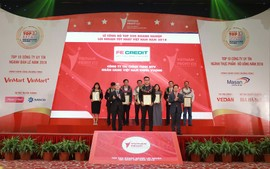 FE CREDIT xếp hạng 11 trong top 500 doanh nghiệp tư nhân lợi nhuận tốt nhất năm 2018