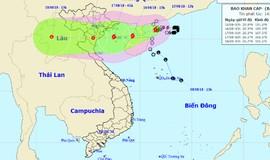 Ngày mai biển động rất mạnh, nhiều tỉnh mưa to do ảnh hưởng bão