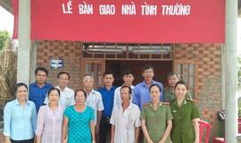 Công an huyện Định Quán (Đồng Nai) vận động trên 2 tỷ đồng xây nhà tình thương