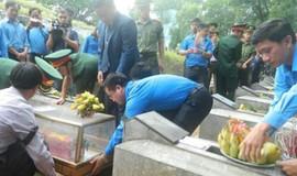 Kiểm tra nhiệm vụ quy tập hài cốt liệt sỹ hy sinh trên đất bạn Lào
