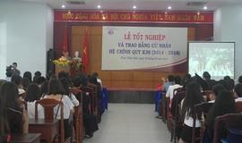 Bế giảng khóa 38 hệ đại học chính quy Trường ĐH Luật, ĐH Huế