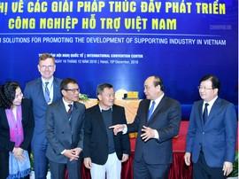 Phát triển Công nghiệp hỗ trợ: Cần có một tinh thần làm việc tầm chiến lược của HLV Park Hang-seo