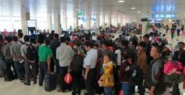 Đi lại dịp tết: nhiều hành khách sẽ phải bay đêm