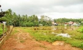 Hoài Ân (Bình Định): Xây nhà trên đất do xã quản lý