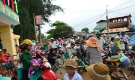 """Quảng Ngãi: Học sinh ngạt thở vì khói lò gạch thủ công, chính quyền """"bó tay"""""""