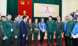 Thanh niên Quân đội là lực lượng xung kích đi đầu trong nhiệm vụ bảo vệ Tổ quốc