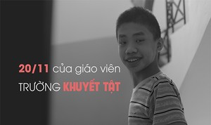 """20/11 ở ngôi trường mang tên """"Hy vọng"""""""