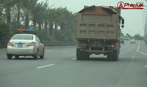 Xe quá khổ, quá tải 'lộng hành' khu vực Đông Anh, Hà Nội