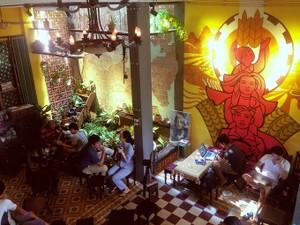 Quán cà phê như một ngôi nhà cũ ở Đà Nẵng