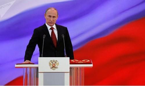 Tổng thống Nga Putin tuyên thệ nhậm chức