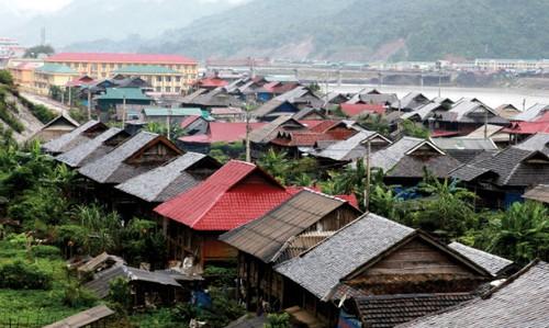 Một điểm tái định cư Thủy điện Sơn La