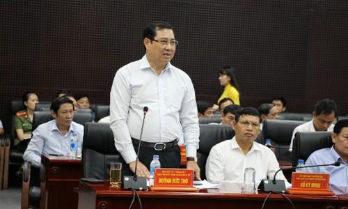 """Ông Huỳnh Đức Thơ thừa nhận vấn đề ô nhiễm môi trường đang khá """"nóng"""" tại Đà Nẵng thời gian qua."""