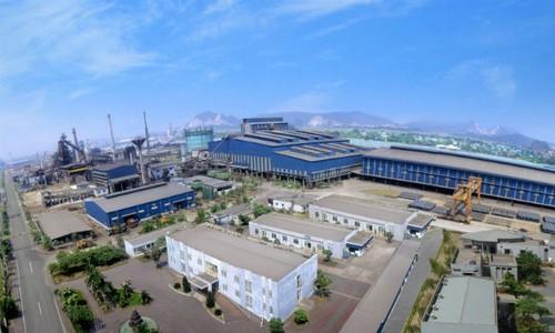 Khu liên hợp gang thép Hòa Phát có công suất 1.700.000 tấn/năm nơi xảy ra sự cố hỏa hoạn khiến 3 công nhân tử vong