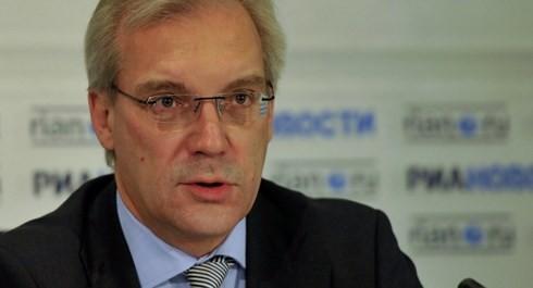 Thứ trưởng Ngoại giao Nga Alexander Grushko. Ảnh: Sputnik/VOV