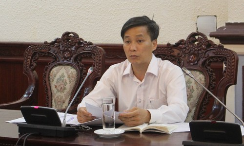 Thứ trưởng Nguyễn Khánh Ngọc chủ trì phiên họp