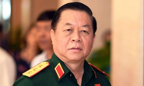 Thượng tướng Nguyễn Trọng Nghĩa -Ủy viên Trung ương Đảng, Phó Chủ nhiệm Tổng cục Chính trị