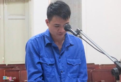 Bùi Văn Biên tại phiên tòa sơ thẩm. Ảnh: Vân Thanh/zing