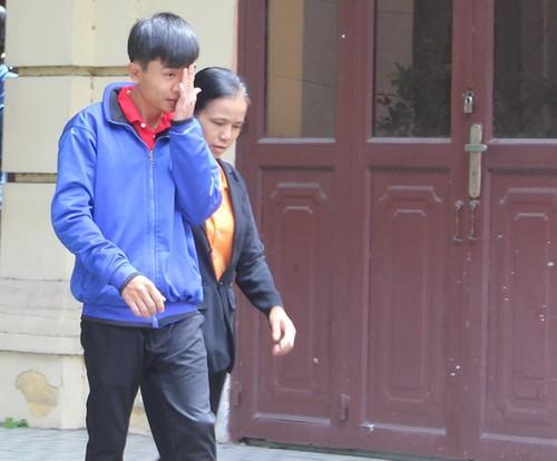 Tuấn được tuyên vô tội tại tòa. Ảnh: Nguyễn Diễm/Zing