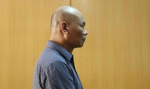 Bị cáo Trần Văn Miên trong lần xét xử mới đây