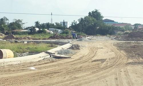 Dự án Khu dân cư Nam An Hoà bị tố chưa triển khai thu hồi đất đã thi công