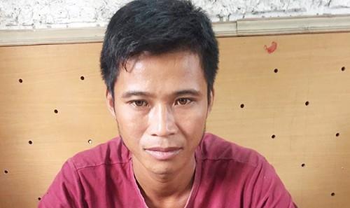 Trần Văn Hoa tại CQĐT.