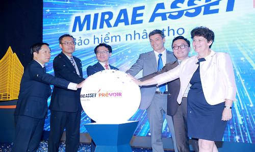 Prévoir Việt Nam giới thiệu đối tác chiến lược và công bố thương hiệu bảo hiểm nhân thọ Mirae Asset Prévoir