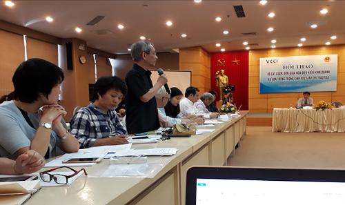 Nhà giáo Nguyễn Xuân Khang, Hiệu trưởng trường  liên cấp Marie curie đề nghị cần làm rõ đầu tư cho giáo dục là thương mại hay xã hội?