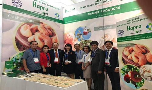 Gian hàng giới thiệu sản phẩm của Hapro tại Hội nghị điều quốc tế lần thứ 10 - 2018