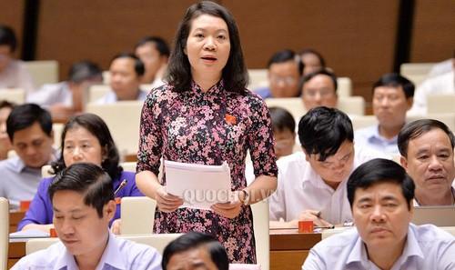 Đại biểu Quốc hội Mai Thị Phương Hoa- tỉnh Nam Định.