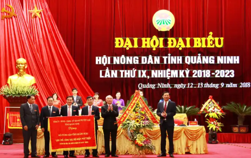 Bí thư tỉnh ủy Quảng Ninh chúc mừng Đại hội Hội nông dân thành công