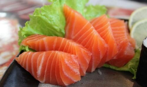 Cá béo như cá hồi, cá ngừ rất được người Nhật ưa chuộng