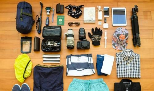 Những vật dụng cần thiết phải mang khi đi du lịch