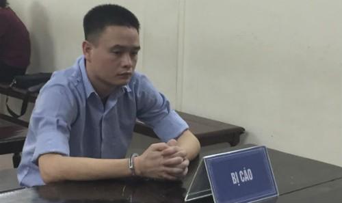 Bị cáo Nam tại phiên tòa phúc thẩm