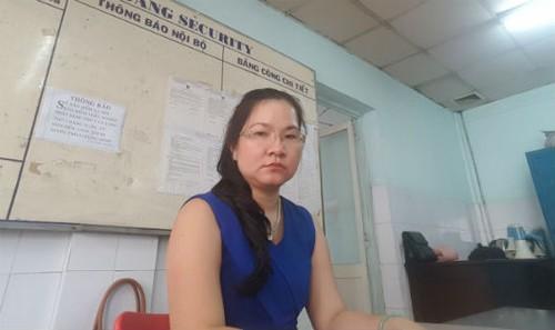 """Bà Châu hàng ngày khi đến công ty đều bị """"giam lỏng"""" tại phòng bảo vệ ."""