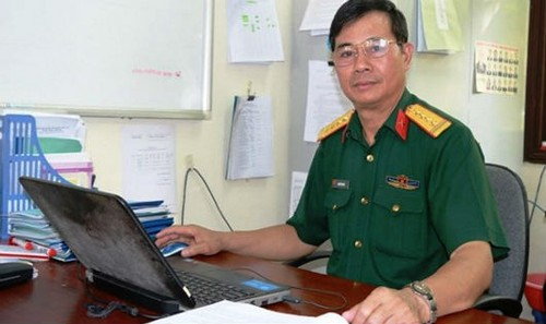 Đại tá Nguyễn Đình Hà.