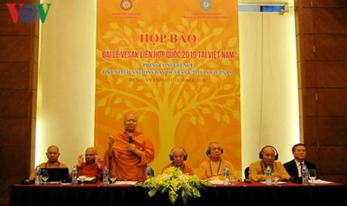 Họp báo Đại lễ Vesak Liên Hợp Quốc 2019 tại Việt Nam