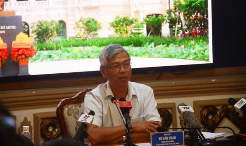 Ông Võ Văn Hoan, Chánh Văn phòng kiêm người phát ngôn UBND TP HCM