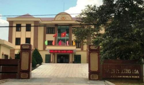 Trụ sở Huyện ủy Hướng Hóa