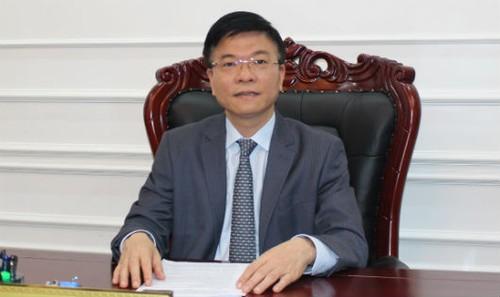 Bộ trưởng Lê Thành Long.