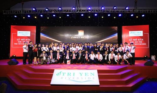 Lễ ra mắt thương hiệu First Real miền Nam và mở bán dự án Khu đô thị Trị Yên RiverSide