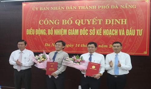 Lễ công bố điều động và bổ nhiệm nhân sự Đà Nẵng ngày 14/9