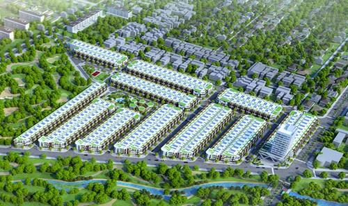 Phối cảnh dự án đất nền Trường Thịnh được Công ty Protech phân phối, mở bán