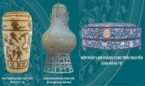 3 cổ vật sẽ được đấu giá tại Hà Nội.