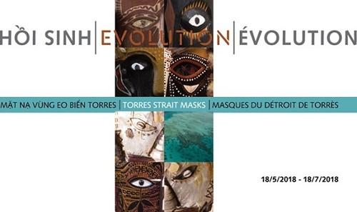 """Trưng bày """"Hồi sinh: Mặt nạ vùng eo biển Torres"""" tại Bảo tàng Dân tộc"""