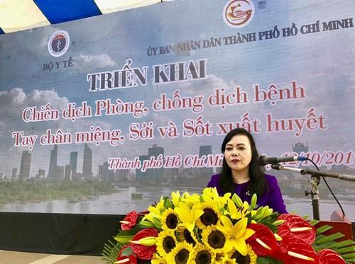 Bộ trưởng Bộ Y tế Nguyễn Thị Kim Tiến phát động chiến dịch